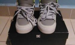 DC shoes for sale in mint condition size 8 looking to