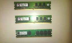 I have 3 1gb ddr2 ram sticks all for R250 all 3 are
