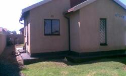 Decent 2 bed house with bath, lounge, kitchen, fully