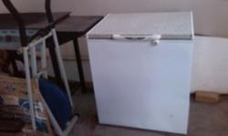 I am selling a nice chest freezer , it can be set for