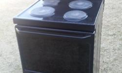 4 Plates with oven and hot drawer In very good
