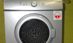 Defy silver matellic tumble dryer for sale still like