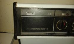 Defy loose standing stove for sale 4 Plate Oven Storage
