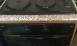 Defy under counter stove with cupboard,hob and