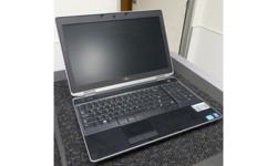 "Dell Latitude E6530 i5 6GB Ram 500GB HDD 15.5"" LCD"