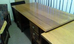 Beskrywing ANTIQUE DESK AVAILABLE Restored DARK ANTIQUE