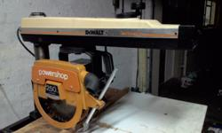 Dewalt radial arm saw in very good condition. Andries