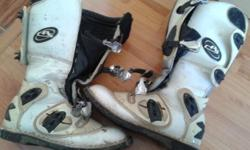 Diadora mx boots and size 34 badboy pants still new and
