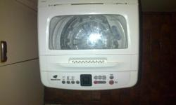 Fully automatic washing machine bought January 2014 in