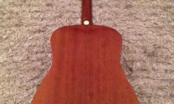 1980's Diaz SF125 Acoustic Made in Korea with fitted
