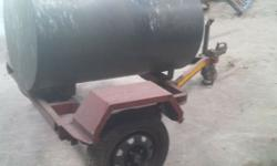 Diesel trailer for sale