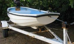 Dinghy without motor - R2500. Trailer needs