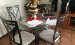 4 chairs & dining table for sale in good condition