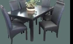 Eat in style on the Jane dining room set Available in