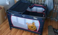 "Disney Hauck ""Winnie the pooh"" camp cot for sale."