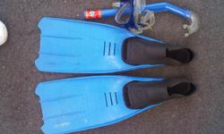 Soort: Diving Diving Shoes, Snorkel, Goggles, Flippers