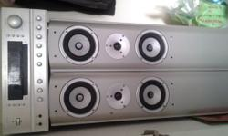 5.1 amplifier ans two floor standing speakers with 4