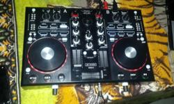 Dixon dj controller still like new with virtual dj LE