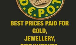 we will pay you cash for all your valuables, jewellery,