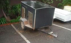 I have a dog trailer for sale. Fits 4 large dogs. No