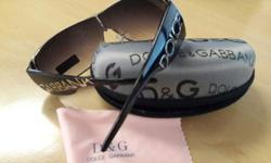 I have a pair of D&G sunglasses for sale. Unwanted gift