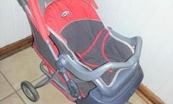Dolls graco pram with carrier / car seat. Still in good