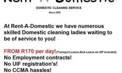 At Rent-A-Domestic we have numerous skilled Domestic
