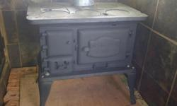 Welcome Dover No 6 coal/wood stove. Very good