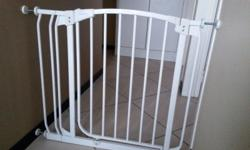 Dream baby safety gate with extension Excellent