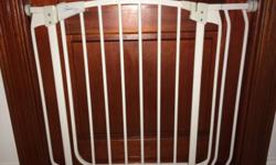Dream Baby safety Gates with extension 2 x gates for