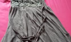 Grey bubble dress for sale in good condition. Size