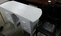 Dressing table , very badly painted white but a gentle