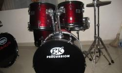 B. K. Percussion Drum kit for sale. No cymbal but comes