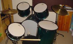 Soort: Drums Jinbao drum set in excellent condition for