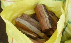 Dry Firewood for sale 20 X 50kg Bags full. Free