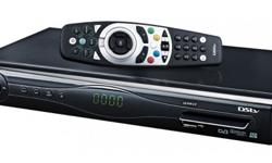 DSTV HD PVR 2P decoder with remote, smart card,