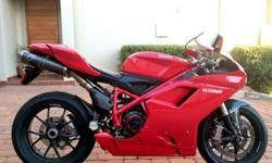 2009 DUCATI 1098. Immaculate. 16000kms. Extras all