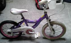 Dunlop Princess bike. Purple. Used. Needs new front