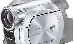 Panasonic VDR-D 150 with charger