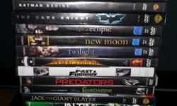 Dvds for sale all in perfect condition R30each or 4 for