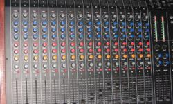 Soort: Mixing Desk Console Dynacord 16 Channel mixer
