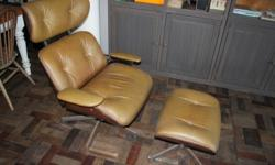 EAMES CHAIR REPLICA AND FOOTSTOOL - REPLICA SMALL TEAR