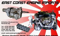 WE ARE SUPPLIERS OF IMPORTED AND LOCAL: ENGINES -