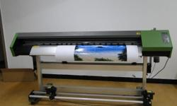 Eco Solvent Printer with Epson Dx7 Print Head 2.5 m
