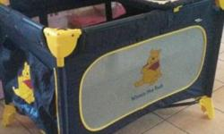 I have a Winnie the pooh edgars campcot for sale, it