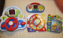 I am selling a couple of well used Leap frog toys, a
