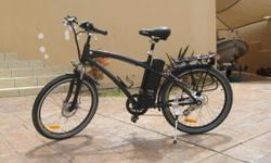 Soort: Bicycle Electric bicycle with front and back