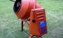 Bull Craft Hobby-Mix 120L Electric Concrete Mixer Good