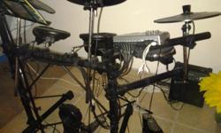 Beskrywing Soort: Drums Clavitech electric drumset for