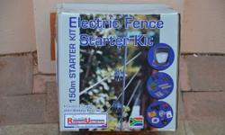 DIY kit for 150m electric fence. Full instructions.